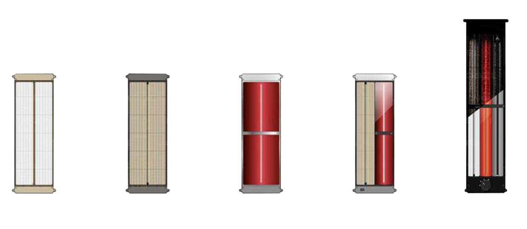 Infraroodsauna heaters