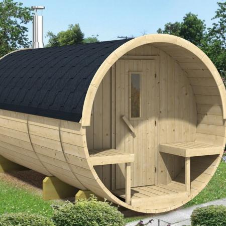 Barrel sauna 350/400