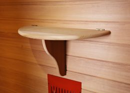 Health & Wellness infrarood sauna detail