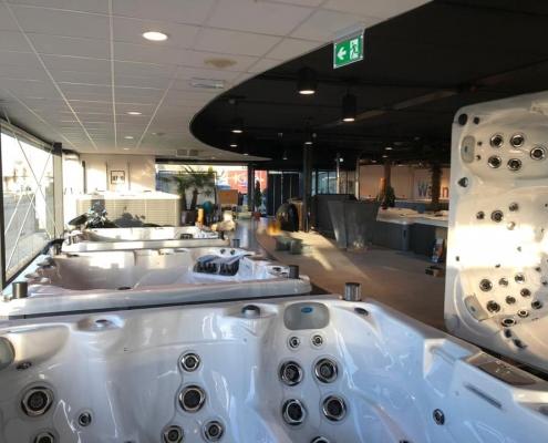 Sunspa Joure showroom
