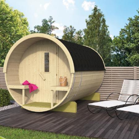 Barrel sauna 300 - Thermowood