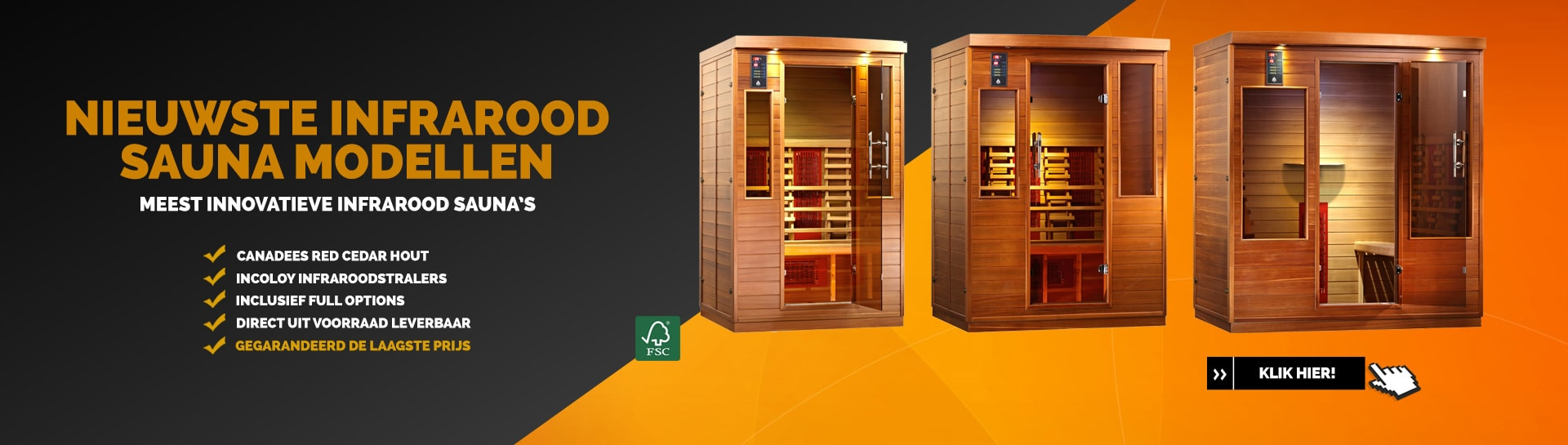 Health & Wellness infrarood sauna's