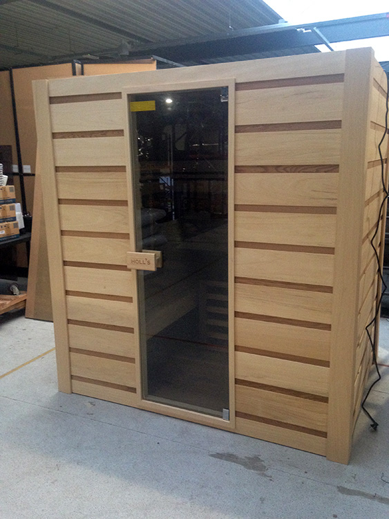 Combi sauna - Finse sauna en infraroodsauna - Outlet