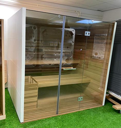 Finse sauna maatwerk - Outlet Breda